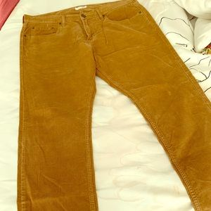 Men's Old Navy khaki corduroy jeans
